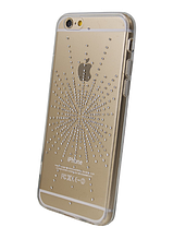 Чехол накладка силиконовый Younicou Diamond для Xiaomi Redmi 4 Silver Shine