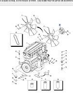 Віскомуфта вентилятора   430406A1