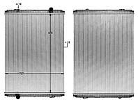 Радиатор охлаждение двигателя Renault Magnum, 5001856528