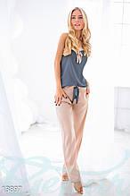Нежная женская пижама для сна с сатина