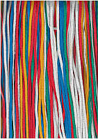 Шнур плетеный мультифиламентный (4,5 мм), цветной темно-синий