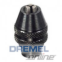 "Dremel 4486. Трехкулачковый безключевой патрон, зажим 0,4-3,4 мм, посадка 9/32""-40"