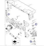 Комплект шкворень+підшипник 378410A1>>368728A1   (8483308090 )