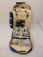 Рюкзак для пикника со столовыми принадлежностями на 4-е персоны