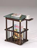 Кофейный стол с мраморной столешницей