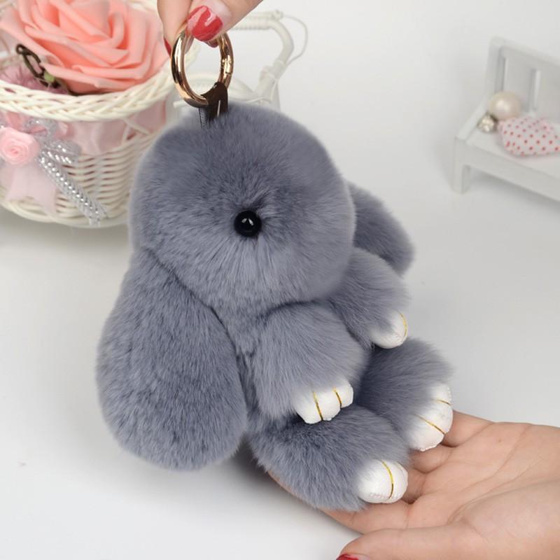 Меховой Кролик  Kopenhagen Fur (брелок на сумку)