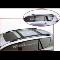 Toyota Rav4 2006-2013 рейлинги+перемычки металлические, Black