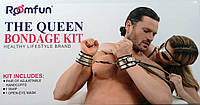 Наручники маска кнут The Queen Bondage Kit #1031