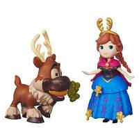 """Игровой набор Маленькие куклы Холодное Сердце с другом """"Анна и Свен"""" Hasbro (B5185-B5187)"""