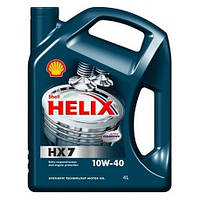Моторное масло Shell Helix HX7 Diesel 10W-40, 4л..