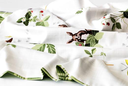 Текстиль для малышей IKEA