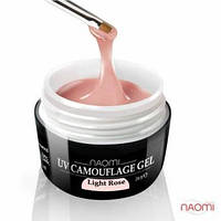 Гель Naomi камуфляжный UV Camouflage Light Rose светло-розовый, 28 г