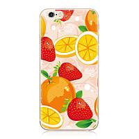 Чехол для Iphone 4/ 4S с рисунком фрукты