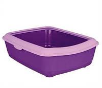 4031 TRIXIE Туалет для кошек с рамкой 47х37х15 см