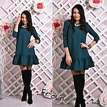 Женское стильное платье-трапеция (6 цветов), фото 3