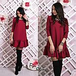 Женское стильное платье-трапеция (6 цветов), фото 4