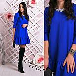 Женское стильное платье-трапеция (6 цветов), фото 6
