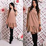 Женское стильное платье-трапеция (6 цветов), фото 7