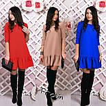 Женское стильное платье-трапеция (6 цветов), фото 9