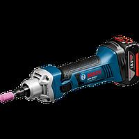 Аккумуляторная прямая шлифмашина Bosch GGS 18 V-LI Professional БЕЗ АККУМУЛЯТОРОВ И ЗУ 06019B5303