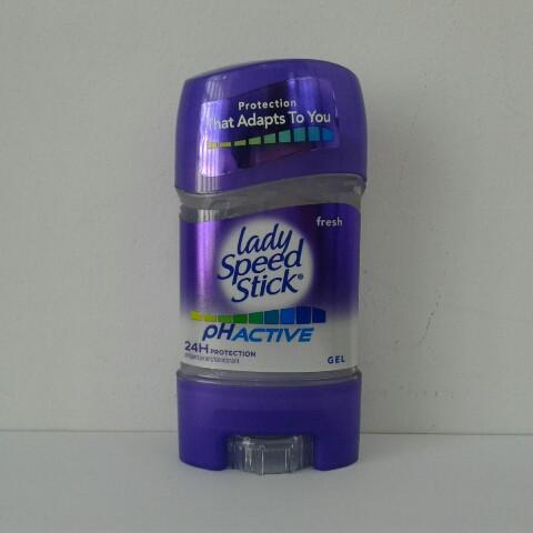 Гелевый женский дезодорант антиперспирант Lady Speed Stick Frech Activ (Леди Спид Стик) 65 гр.