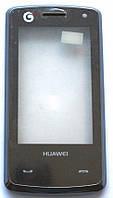Тачскрин (сенсор) Huawei T553, with frame (с рамкой), black (чёрный)