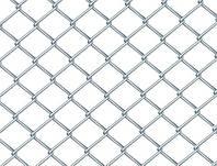 Рабица, Ячейка 60х60, Диаметр 2.0, Рулон 1.8х10 Оцинкованная