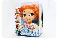 Кукла для причесок «Холодное сердце. Анна» (Краска для волос, помада, карандаш) ZT 8828-A