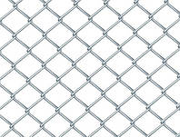 Рабица, Ячейка 35х35, Диаметр 1.6, Рулон 1.8х10 Оцинкованная