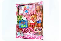 Кукольный набор «Штеффи и Эви с животными» 5732156