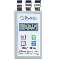 Профессиональный влагомер древесины и стройматериалов (проникающая способность СВЧ 50 мм) EXOTEK MC-160SA