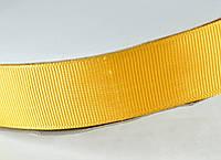 Лента репс 25мм 91м золотистый