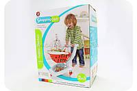 Игровой набор детский «Тележка из супермаркета с продуктами» + 27 товаров