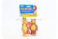 Пищалки фирменные «Маша и медведь» - (3 фигурки)
