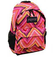 Городской рюкзак нейлоновый розовый, фото 1