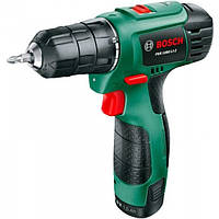 Аккумуляторный шуруповерт Bosch PSR 1080 LI-2 new (2 аккумуляторных блока) 06039A2101