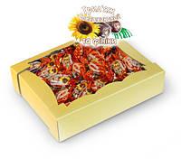 Сбивные конфеты Грильяж подсолнечный с финиками