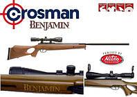 Пневматическая винтовка Benjamin Trail BT 1500 WNP, интегрированный глушитель