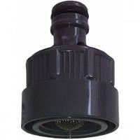Коннектор с автостопом для водозаборных колонок Gardena 8250-20, 8254-20