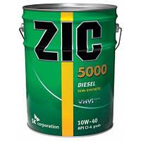 Моторное масло ZIC 5000 10W-40, 20л.