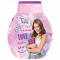 Шампунь-гель для купання  VIOLETTA LOVE 250мл