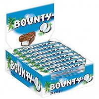 Шоколадный батончик Bounty 57 грамм 24 шт Mars