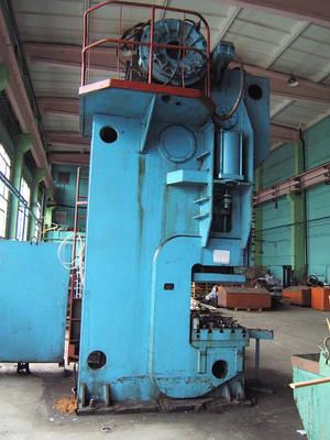 Кузнечно-прессовое оборудование для обработки металлов давлением