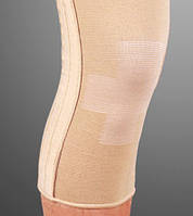 Бандаж эластичный на коленный сустав со спиральными ребрами ES -719