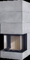 Теплоаккумулирующий камин Brunner BSK 05 / Eck-Kamin 57/40/60/40 Panorama
