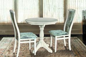 Круглий стіл Чумак d=80см (слонова кістка)