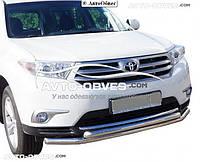 Кенгурин двойной ус для Toyota Highlander