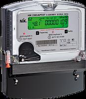 Электросчетчик трехфазный многотарифный НІК 2303 АРТ2Т (5-10А) актив. и реактив. энергии двунаправленный 100В