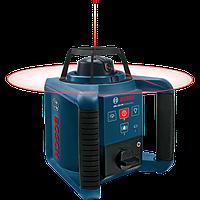 Ротационный лазерный нивелир с пультом ДУ Bosch GRL 250 HV Professional (приемник в комплект поставки не входит)