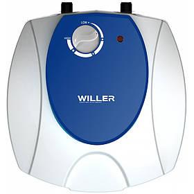 Бойлер Willer PU 6 R optima mini під мийкою